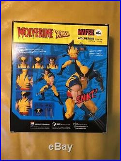 New and Sealed MAFEX WOLVERINE COMIC Version Marvel X-MEN No. 096 US Seller