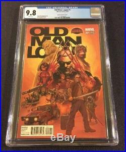 OLD MAN LOGAN #1 Comic Book 125 RI Variant McNiven CGC 9.8 Marvel Secret Wars