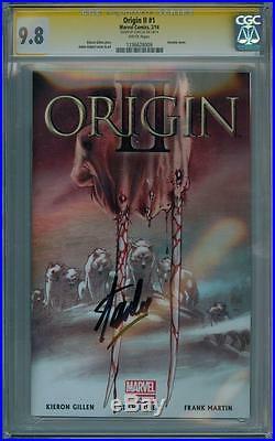 Origin II #1 Cgc 9.8 Signature Series Signed Stan Lee Wolverine Marvel Comics