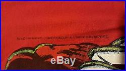Rare Vintage 80s 1986 X-Men Wolverine T-Shirt Movie Marvel Comic Book