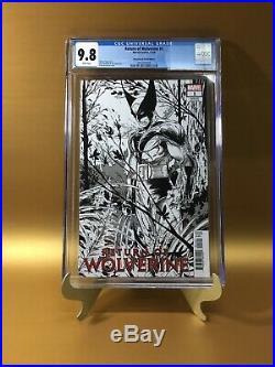 Return Of Wolverine #1 11000 McFarlane Remastered Sketch Variant CGC 9.8 RARE