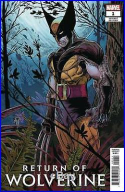 Return of Wolverine #1 1500 McFarlane Remastered Variant NM
