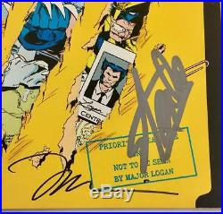STAN LEE Jim Lee MARC SILVESTRI Autograph Signed MARVEL Wolverine Comic BAS COA