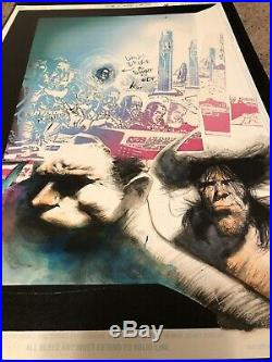 Sam Kieth Original Comic Art Hulk Wolverine Maxx Book Marvel Colored