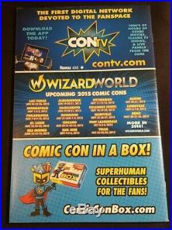 Secret Wars 1 Variant Comic Con Sketch 2015 Nm Hulk Wolverine Box Deodato