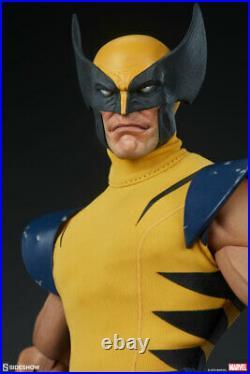 Sideshow Marvel X-Men Wolverine 1/6 Scale Figure Logan Classic Yellow Suit