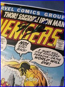 Stan Lee Signed Avengers Marvel Comic Book AUTHENTIC AUTOGRAPH