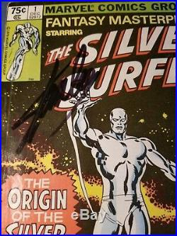 Stan Lee Signed The Silver Surfer #1 Marvel Comic Book AUTHENTIC AUTOGRAPH