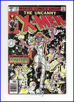 The Uncanny X-men #130 == Fn/vf 1st Dazzler Marvel Comics 1980 Newsstand