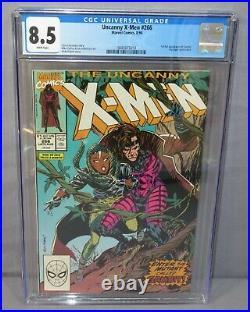 UNCANNY X-MEN #266 (Gambit 1st appearance) CGC 8.5 VF+ Marvel Comics 1990
