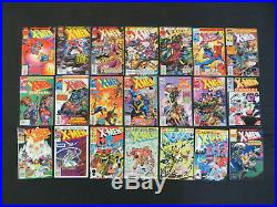 Uncanny X-men 151 Issue Comic Run Lot #202-354 Annual 7-18 Wolverine X-men Cable