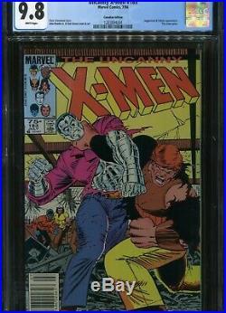 Uncanny X-men #183 CGC 9.8 75 cent variant 7/84 Marvel comics