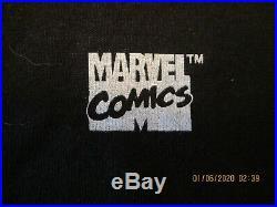 Vintage 1994 Comic Images Wolverine Marvel Adult M T-shirt New