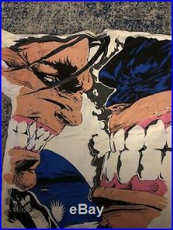 Vintage All Over Print Marvel Wolverine Vs Cyber T-shirt 90s 1994 Comic Images