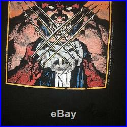 Vintage Wolverine Marvel Comic Images Shirt Mens XL Single Stitch 90s 80s Rare