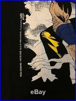 Vintage marvel wolverine T-shirt 1995 Comic Images 90s Xl