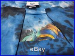 Vintage wolverine tie dye shirt 90s marvel dc comic avenge Universal Studios XXL