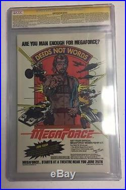 WOLVERINE #1 1982 LIMITED SERIES CGC 9.8 White Pages SIGNED BY STAN LEE