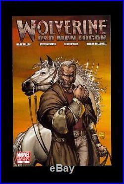 WOLVERINE #66 MICHAEL TURNER 150 VARIANT VFNM 1st OLD MAN LOGAN COMIC KINGS
