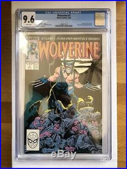 WOLVERINE COMIC #1! Vol. 2 CGC 9.6 MARVEL 1988