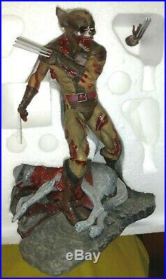 WOLVERINE MARVEL ZOMBIES MILESTONE STATUE Diamond Select Figure Comic bust X-Men