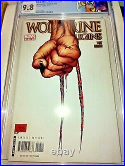 WOLVERINE ORIGINS #10 CGC 9.8 WP 1st Appearance DAKEN Custom Label