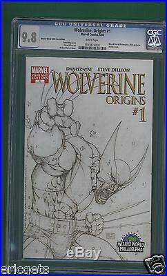 WOLVERINE ORIGINS #1 COMIC, CGC 9.8 Wizard World Philadelphia 2006 Exclusive