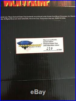 WOLVERINE VS. SABRETOOTH BOOKENDS DIAMOND SELECT STATUE MARVEL Comic 303/2500