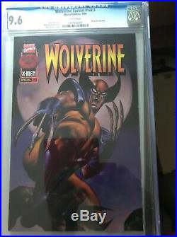 Wolverine 102.5 Special CGC 9.6 fleer promo comic