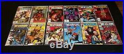 Wolverine (1988) 49 Issue Comic Book Run #1-50 X-men Logan