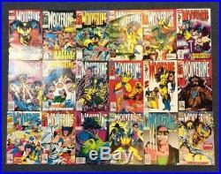 Wolverine 1 -189 complete Marvel comic series 1st app patch 8 HULK 10 Sabretooth
