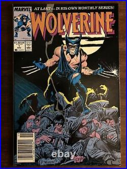 Wolverine #1 1988 1st Patch marvel comics Logan Nice Copy