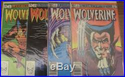 Wolverine 1 2 3 4 Marvel Limited Mini Comic Set Complete Frank Miller 1982 Vf+