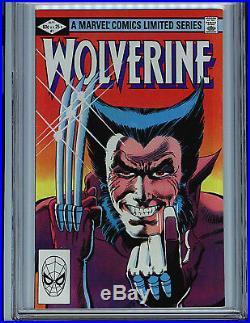Wolverine #1 CGC 9.4 1982 1st Yukio 1st solo Wolverine Marvel Comic Amricons K1