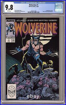 Wolverine #1 CGC 9.8 1988 2093511006