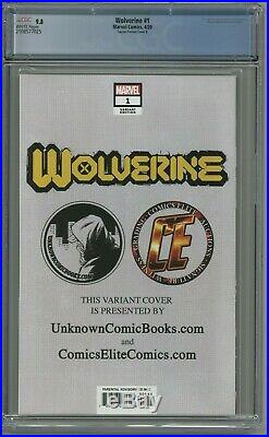 Wolverine #1 CGC 9.8 Mico Suayan Variant Cover B Virgin Edition UCB CE Hulk 340