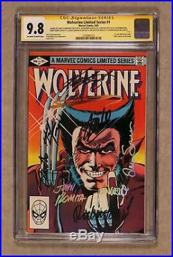 Wolverine #1 CGC 9.8 SS Stan Lee 1316581015