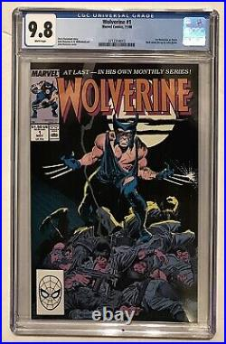 Wolverine #1 CGC 9.8 WP