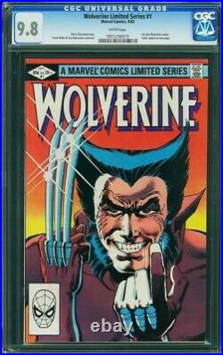 Wolverine #1 CGC 9.8 White pages! Frank Miller First Solo Title 1982
