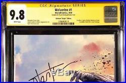 Wolverine #1 Cgc Ss 9.8 Tyler Kirkham Virgin X-men Omega Red Incredible Hulk 181