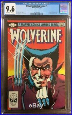 Wolverine #1 Frank Miller- 1st Solo Comic 1982 Nm+ Cgc 9.6