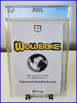 Wolverine #1 JeeHyung Lee Virgin Variant CGC 9.8