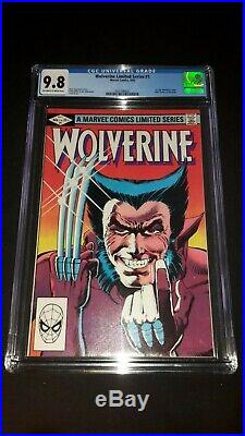 Wolverine #1 Marvel Comics September 1982 1st Print X-Men CGC 9.8