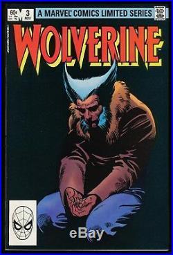 Wolverine 1st Series Comic Set 1-2-3-4 Lot Marvel 1982 Frank Miller art Ninja