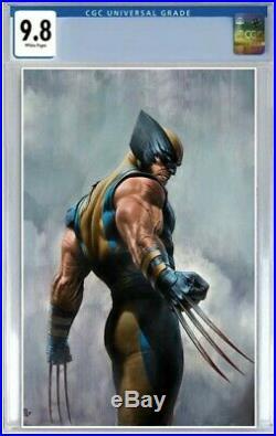 Wolverine #3 CGC 9.8 PRE-ORDER Exclusive Adi Granov Color Virgin Variant Comic