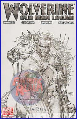 Wolverine #66 Old Man Logan 1100 Turner Sketch Variant High Grade Marvel Comic