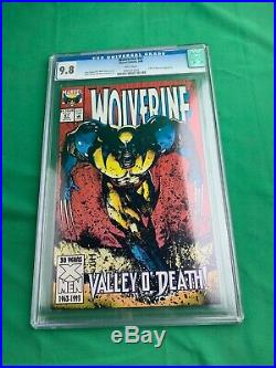 Wolverine #67 CGC Graded 9.8 Marvel March 1993 White Pages Comic Book