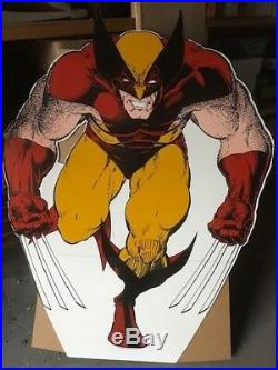 Wolverine Brown & Orange Stand UP Display by Art Adams Marvel Comics X-Men