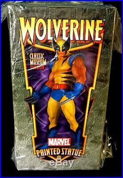 Wolverine Classic Museum X-Men Marvel Comics Statue 2008 Amricons Bowen Designs
