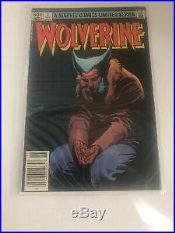 Wolverine Limited Series 1-4 Frank Miller Marvel Comic Books